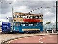 SJ3289 : Birkenhead Tram 69 at Woodside by David Dixon