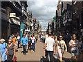 SJ4066 : Eastgate Street, Chester by Steven Haslington