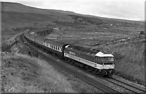 SD7992 : Passenger train north of Garsdale by The Carlisle Kid