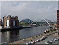 NZ2563 : View from Tyne Street, Newcastle by Stephen Richards