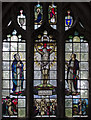 TF2234 : Stained glass window, St Margaret's church, Quadring by Julian P Guffogg