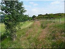 SE0322 : Sowerby Bridge FP140, Green Lane, Link D by Humphrey Bolton