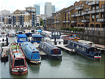 TQ3680 : Limehouse Basin by Stephen McKay