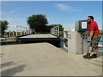 TG4419 : The new floating bridge at Martham Ferry by Adrian S Pye