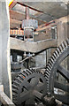 SP0632 : Stanway water mill - gearing by Chris Allen