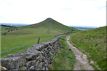NZ5812 : To Roseberry Topping by Keith Evans