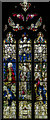 TF1444 : Stained glass window  St Andrew's church, Heckington by Julian P Guffogg