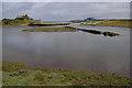 SH3293 : Lagoon outlet, Cemlyn Bay by Ian Taylor