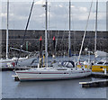 J5082 : Yacht 'A.J. Wanderlust' at Bangor by Rossographer