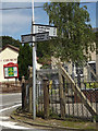 TM1570 : Roadsign on Mill Road by Geographer