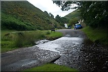 SO4494 : Carding Mill Valley Ford by John Walton
