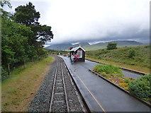 SH5752 : Rhyd-Ddu station, Welsh Highland Railway by Dr Neil Clifton