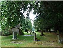 SK2381 : St Michael, Hathersage: churchyard (vi) by Basher Eyre