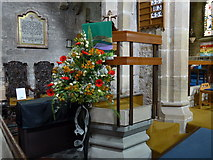 SK2381 : St Michael, Hathersage: pulpit by Basher Eyre