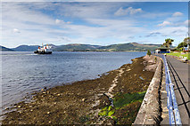 NS0964 : Battery Place, Rothesay, Bute by David P Howard