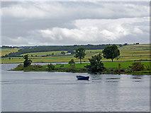NH5658 : The Dingwall Canal at high tide by Julian Paren