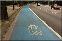 TQ2977 : Cycle Superhighway 8 by Richard Croft