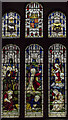 SO7225 : Stained glass window, St Mary's church, Newent by Julian P Guffogg
