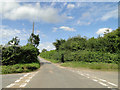 TG1428 : Church Lane, Oulton at the Itteringham crossroads by Adrian S Pye