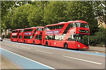 TQ2977 : Buses on Grosvenor Road by Richard Croft
