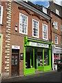 SO8554 : Barnardo's charity shop by Philip Halling