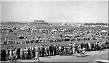 TQ2258 : Derby Day at Epsom, 1959: seen from Tattenham Corner by Ben Brooksbank