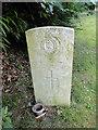 TG2220 : The headstone of Captain W.F. SMARTT by Adrian S Pye