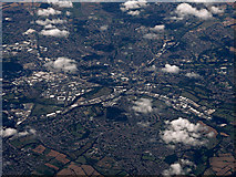 SK3837 : Derby from the air by Thomas Nugent
