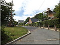 TM1266 : Entrance to Wetheringsett V.C.P. School by Geographer