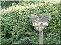 TG3034 : Knapton village sign by Adrian S Pye
