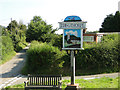 TG3131 : Edingthorpe village sign by Adrian S Pye