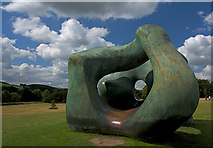 SE2812 : Sculpture in Bretton Country Park by Paul Harrop