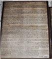 SE2688 : Mortification board, St Gregory's Church, Bedale by Bill Harrison