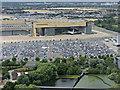 TQ1075 : BA Hangar at Heathrow by Thomas Nugent