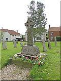 TG2834 : Trunch War Memorial by Adrian S Pye