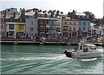 SY6778 : Quicksilver 650 in Weymouth Harbour by Jaggery