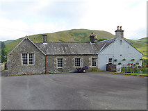 NY3090 : Former school at Westerkirk by Oliver Dixon