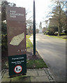 SP3277 : Sign on the way to the Cenotaph, War Memorial Park, Coventry by Robin Stott