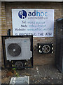TL0652 : Air Condition Unit & Adhoc sign by Adrian Cable