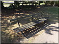 TL0652 : Seat in Mowsbury Park by Geographer