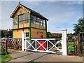 TG1543 : Sheringham East Signal Box by David Dixon
