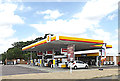 TL1655 : Shell Fuel Filling Station, Chawston by Adrian Cable