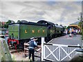 TG1543 : LNER 8572 at Sheringham Station by David Dixon