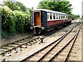 TG1543 : Railway Carriages at Sheringham by David Dixon