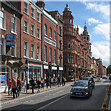 SO8455 : Worcester: down Foregate Street by John Sutton