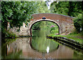 SJ9312 : Otherton Lane Bridge south of Penkridge, Staffordshire by Roger  Kidd