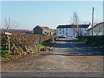NY3646 : Access road, Moss End by Rose and Trev Clough