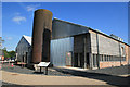 SJ6775 : Lion Salt Works - pan houses by Chris Allen