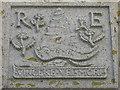 NL6697 : Carved crest at Kisimul Castle by M J Richardson