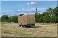 SU9961 : Harvest time, Bourne Meadows by Alan Hunt